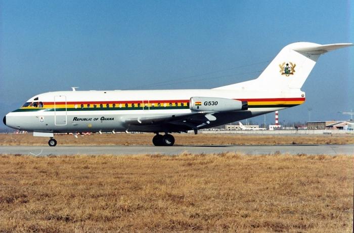 Fokker_F-28-3000_Fellowship,_Ghana_-_Air_Force_AN0193478