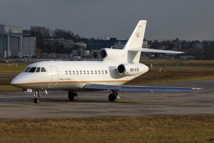 Ghana Air Force - Dassault Falcon 900EX - 9G-EXE - 1584 NET