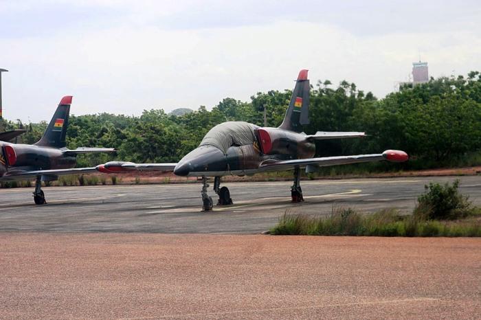 L-39 en Ghana