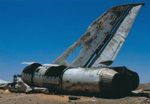 Un Tupolev Tu-22 perdido tontamente (3/4)