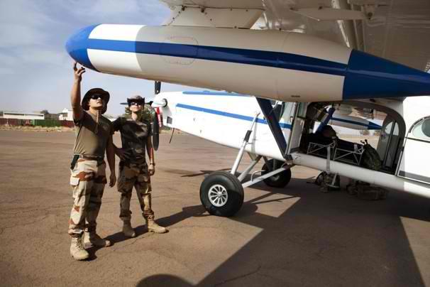 PC-6 en Bamako