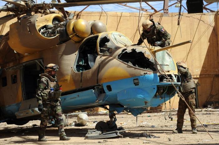 Mil Mi-24D en Mali