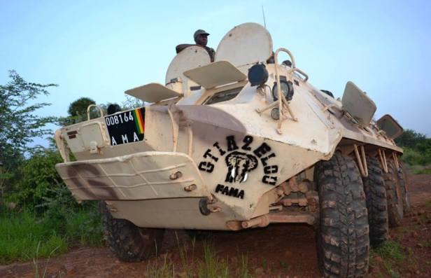 BTR-60 de Mali