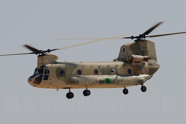 CH-47 libio en LAVEX 2009