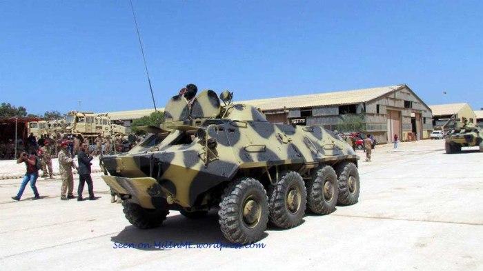 BTR-60PB del Batallón 204