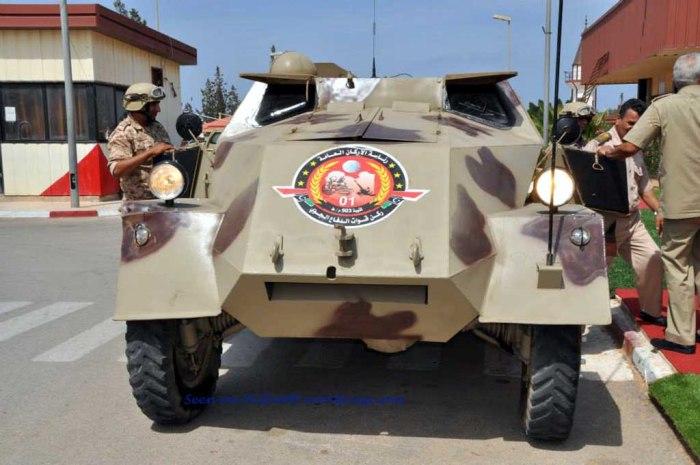 M53/59 Praga restaurado recientemente por el Batallón de Defensa Antiaéreo 503.