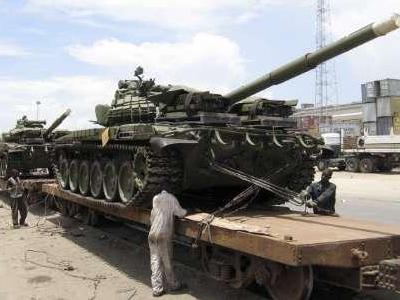 T-72 en Nigeria
