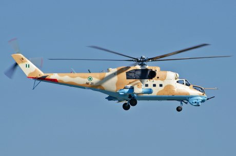 Mi-24V Nigeria