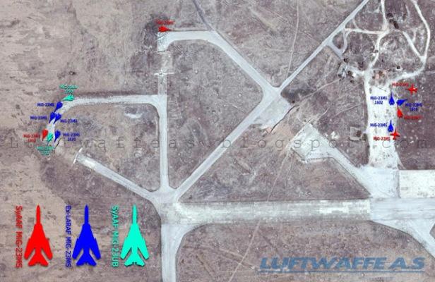Abu DhHour 2014-05-11 WEST Ex-LARAF MiG-23MS1