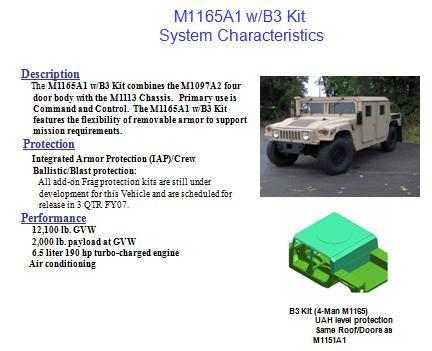 M1151-52-65 Series HMMWV Slide 4