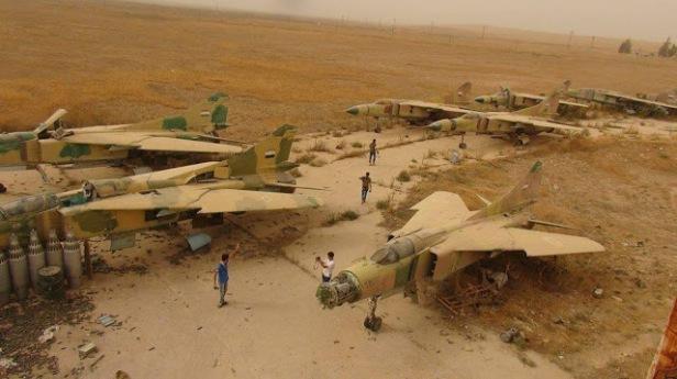 SyAAF MiG-23 Bone Yard (3)