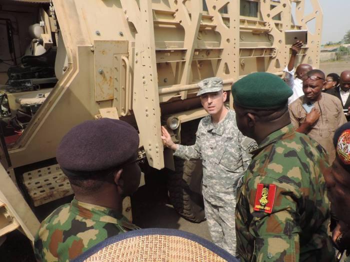 MRAP en Nigeria