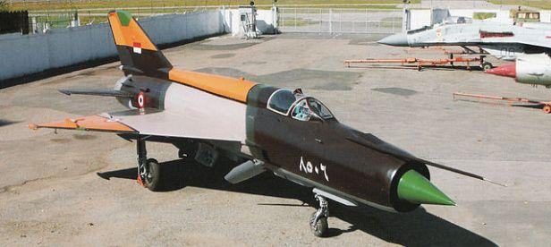 MiG-21 egipcio.