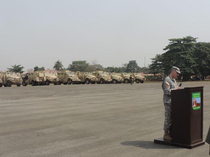 MRAPs en Nigeria