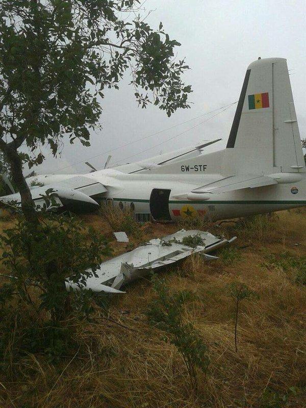 F-27 de la Fuerza Aérea de Senegal