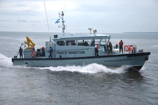 Buque de vigilancia pesquera de Sierra Leona