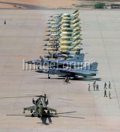 Aviones en Misrata