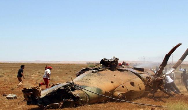 Mil Mi-24 estrellado en Libia