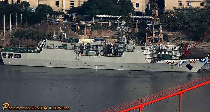 El F92 Unity durante su construcción en China. Foto vía Beegeagle's Blog.