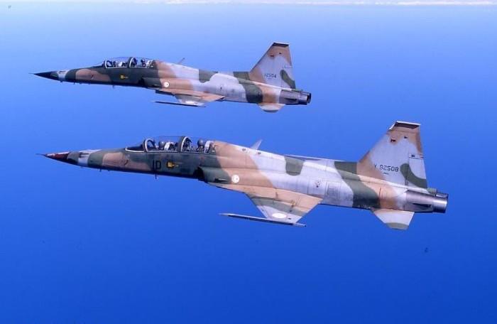 F-5F Tiger II Túnez