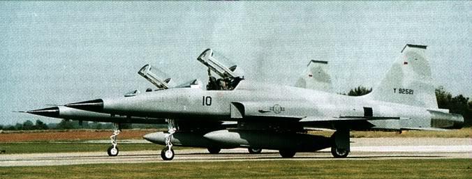 F-5E Tiger II Túnez